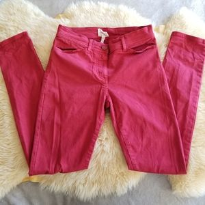 WILFRED FREE Aritzia Skinny Red Jeans